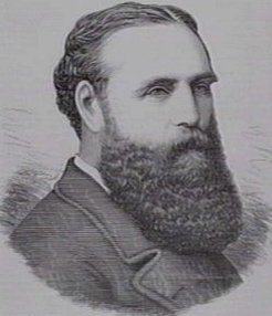William Saurin Lyster (1828-1880), by unknown engraver