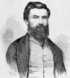 Duncan McIntyre (1831-1866), by unknown engraver , 1865 (after a photograph by A. McDonald)