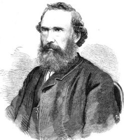 Angus Mackay (1824-1886), by Samuel Calvert, 1870 (after a photograph by Frederick Frith)