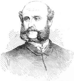 Charles MacMahon (1824-1891), by unknown engraver