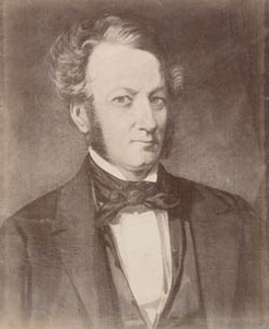 George Robert Nichols (1809-1857), by unknown photographer