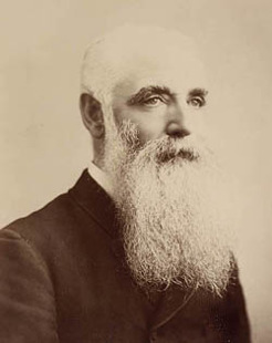 Daniel O'Connor (1844-1914), by unknown photographer