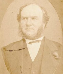 Michael O'Grady (1824-1876), by unknown photographer, c1865-76