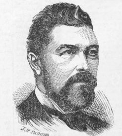 James Brown Patterson (1833-1895), by unknown engraver
