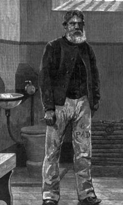 Henry Power, in Pentridge Prison, by Julian Rossi Ashton, 1881