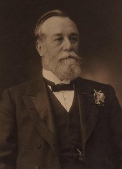 Frederick Thomas Sargood (1834-1903), by unknown photographer