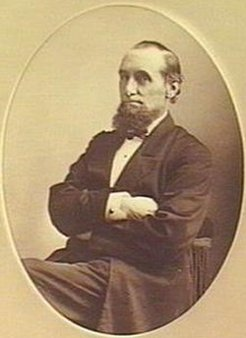 William Townsend (1821-1882), by John Hood, 1882