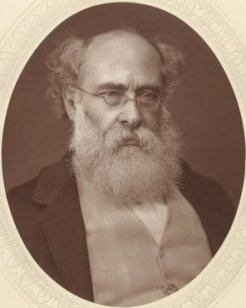 Anthony Trollope (1815-1882), by unknown photographer