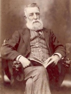 Ebenezer Ward (1837-1917), by unknown photographer