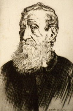 Thomas Williams (1815-1891), by Lionel Lindsay