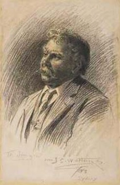 James Ashton (1859-1935), by John Samuel Watkins, 1913