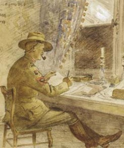 Alfred Joseph Bessell-Browne (1877-1947), by A. Henry Fullwood
