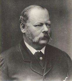Patrick Alfred Jennings (1831-1897), by unknown photographer