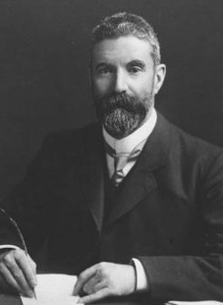 Alfred Deakin (1856-1919), by unknown photographer