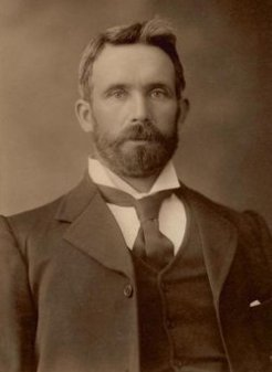 Hugh de Largie (1859-1947), by Swiss Studios, 1900s