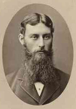 David Lindsay (1856-1922), by unknown photographer, c1890