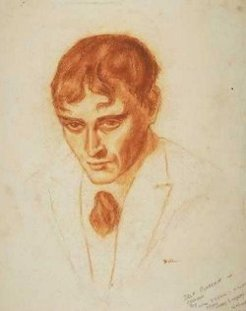 Will Dyson, self-portrait, 1910