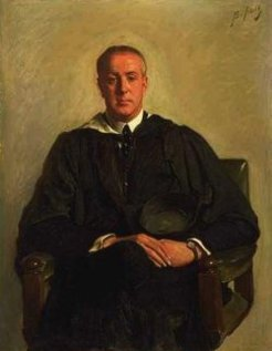 Richard Penrose Franklin (1884-1942), by Bernard Hall, c1920