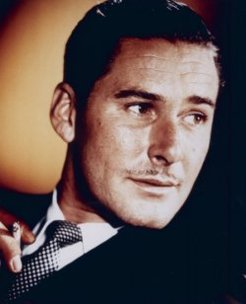 Errol Leslie Flynn (1909-1959), by unknown photographer, 1940s