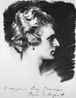 George Percy Grainger (1882-1961), by John Singer Sargent