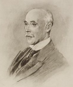 second Viscount Hampden (1841-1906), by Percy F. Spence