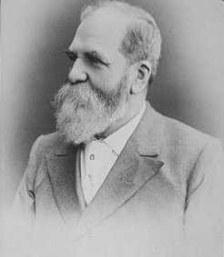James Henderson Howe (1839-1920), by unknown photographer
