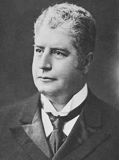 Edmund Barton (1849-1920), by unknown photographer, 1903