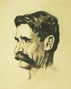 Henry Lawson (1867-1922), by Lionel Lindsay