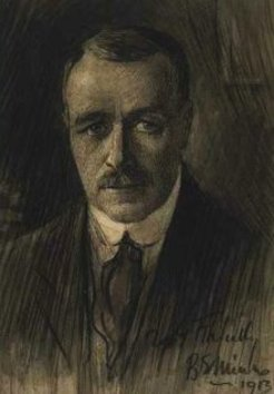 Benjamin Edwin Minns (1863-1937), self-portrait