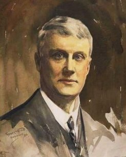 George Ernest Morrison, by Frederic Whiting