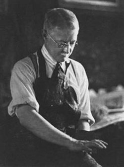 Lionel Lindsay (1874-1961), by Harold Cazneaux, c1925