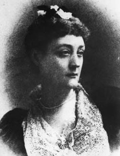 Rosa Praed, by Elliott and Fry, c.1895