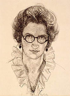Alethea Mary Proctor (1879-1966), self-portrait, 1921