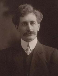 Ernest Alfred Roberts (1868-1913), by T. Humphrey & Co. , 1908