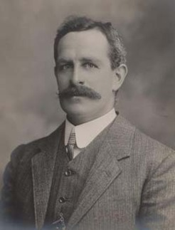 Francis Gwynne Tudor (1866-1922), by unknown photographer, 1908-09