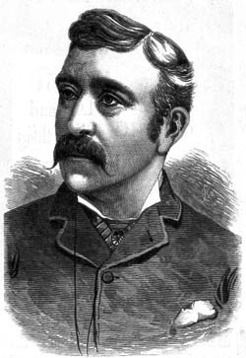Howard Vernon (1848-1921), by unknown engraver, 1884