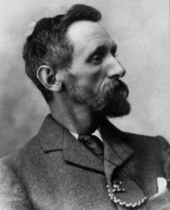 Clement Wragge, by Harold Nicholas, c.1901