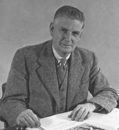 Edmund Garnet Bonney (1883-1959), by unknown photographer, c1948