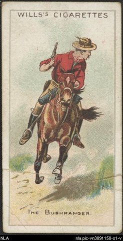 The Bushranger (cigarette card collection)