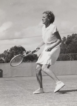 Nell Hopman, Royal King's Park Tennis Club, 1947