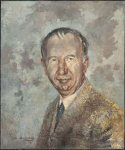 Nevil Shute, by Ian Hassall, 1962