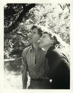 Sunday Reed, with her husband, John Reed, by Albert Tucker, 1943