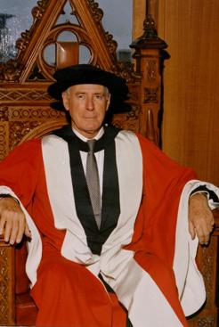 Ian Potter, at the conferring of his honorary doctorate, University of Melbourne, 1973