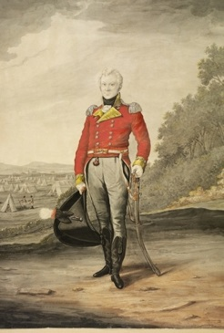 George Johnston, by Robert Dighton, 1810