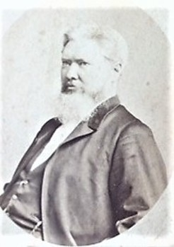 Joseph Moore, by American & Australasian Photographic Company, c.1888