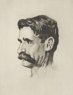 Henry Lawson, by Lionel Lindsay, 1919