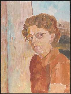 Grace Cossington Smith, self-portrait, c.1951